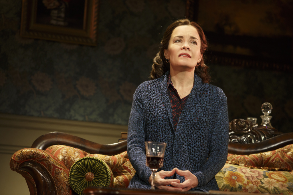 """Susan Moniz as the mother in the national tour of """"Fun Home."""""""