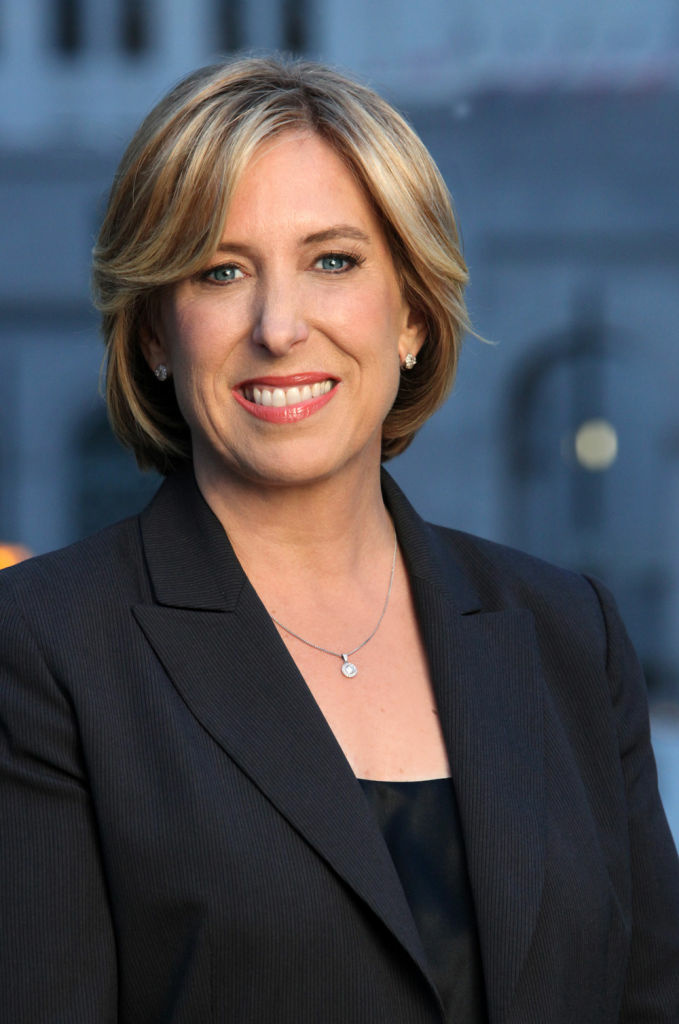 Controller Wendy Greuel's campaign for mayor was endorsed Thursday by U.S. Sen. Barbara Boxer.