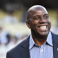 "Earvin ""Magic"" Johnson Jr. -  president of basketball operations of the Los Angeles Lakers"