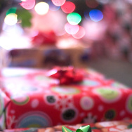 Gift gifts present presents bow wrapping paper wrapped holiday