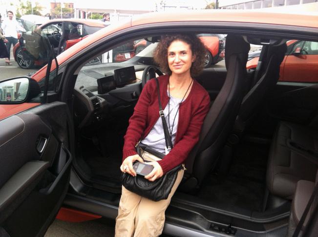 .The 2014 BMW i3