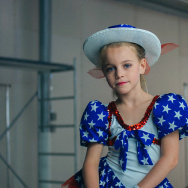 "A still from ""Casting JonBenet."""