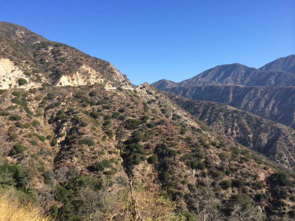 FILE: The U.S. Forest Service is seeking public comment on a request to drill test borings in the Angeles National Forest as part of assessments underway for the high-speed rail project.