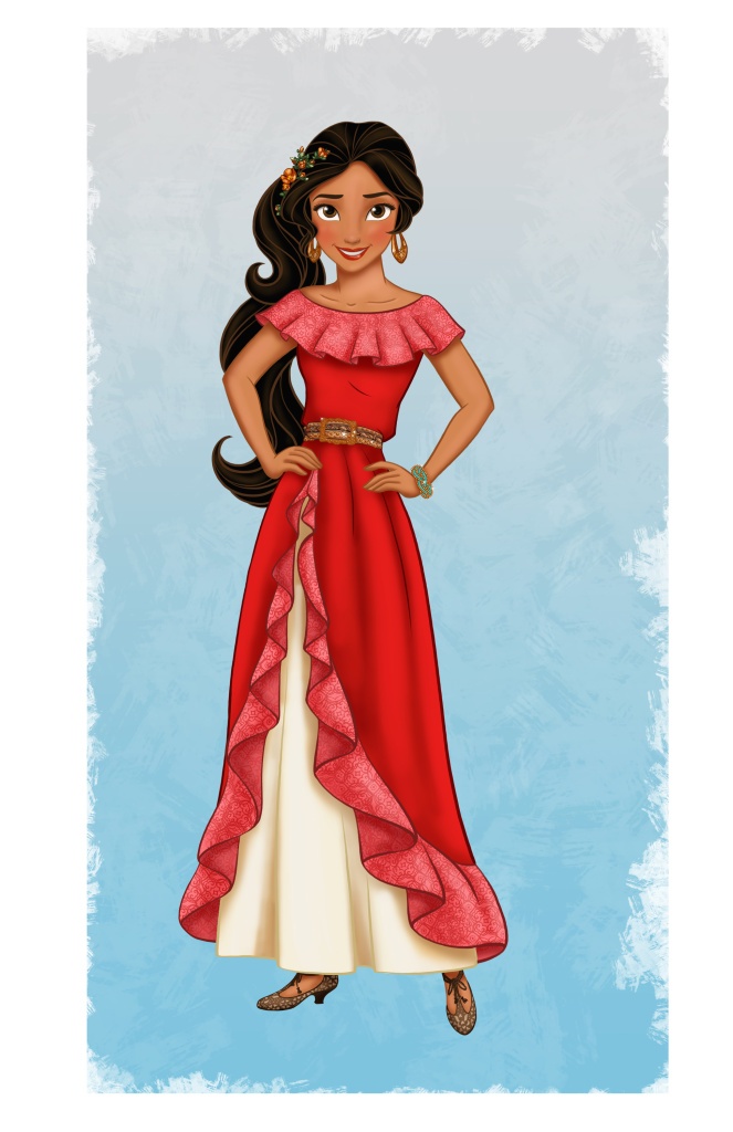 ELENA OF AVALOR - Princess Elena of Avalor, a confident and compassionate teenager in an enchanted fairytale kingdom inspired by diverse Latin cultures and folklore, will be introduced in a special episode of Disney Junior's hit series