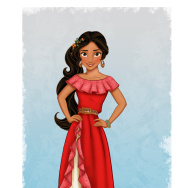 "ELENA OF AVALOR - Princess Elena of Avalor, a confident and compassionate teenager in an enchanted fairytale kingdom inspired by diverse Latin cultures and folklore, will be introduced in a special episode of Disney Junior's hit series ""Sofia the First"" beginning production now for a 2016 premiere.  That exciting story arc will usher in the 2016 launch of the animated series ""Elena of Avalor,"" a production of Disney Television Animation. (Disney Junior) PRINCESS ELENA OF AVALOR"