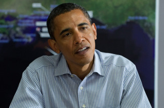 US President Barack Obama speaks about the oil spill following the BP Deepwater Horizon accident.