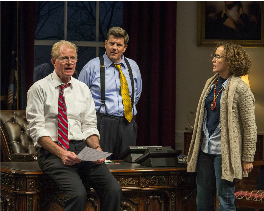 Ed Begley, Jr., Rod McLachlan and Felicity Huffman in