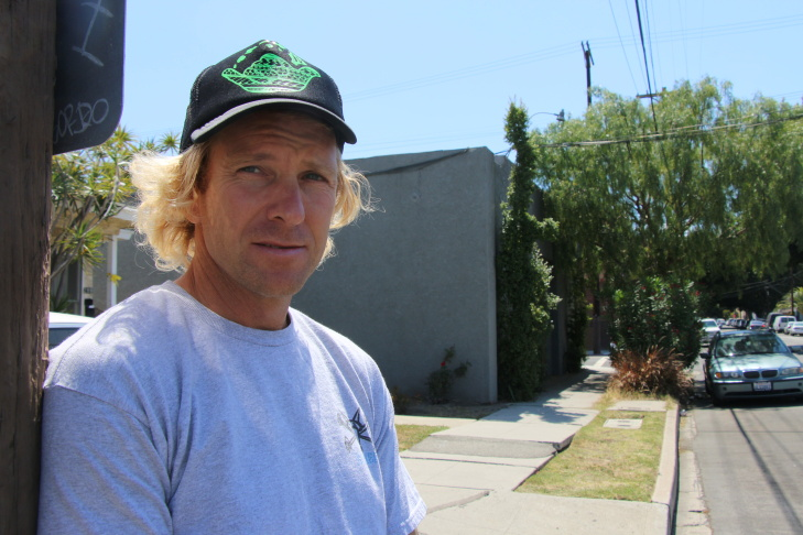 Councilman Joe Buscaino of the 15th district, skating.
