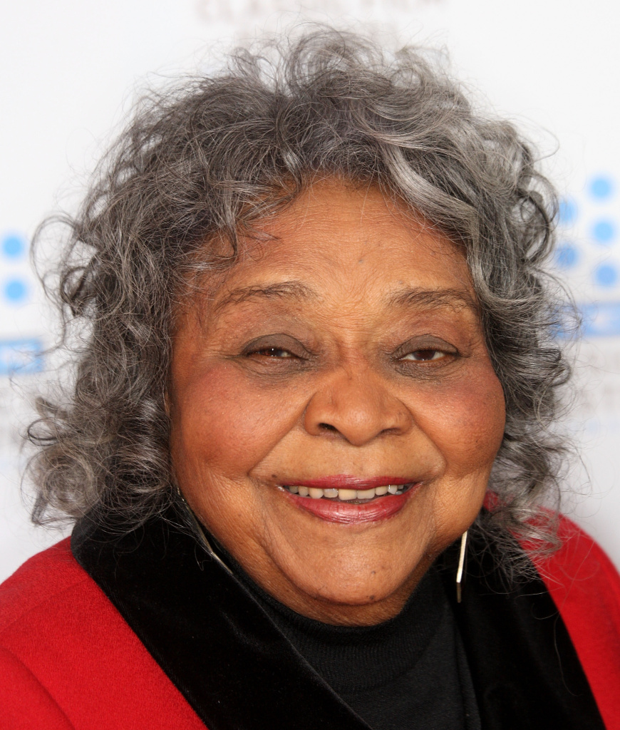 "Actress Juanita Moore attends the TCM Classic Film Festival screening of a ""A Star Is Born"" at Grauman's Chinese Theater on April 22, 2010 in Hollywood, California."