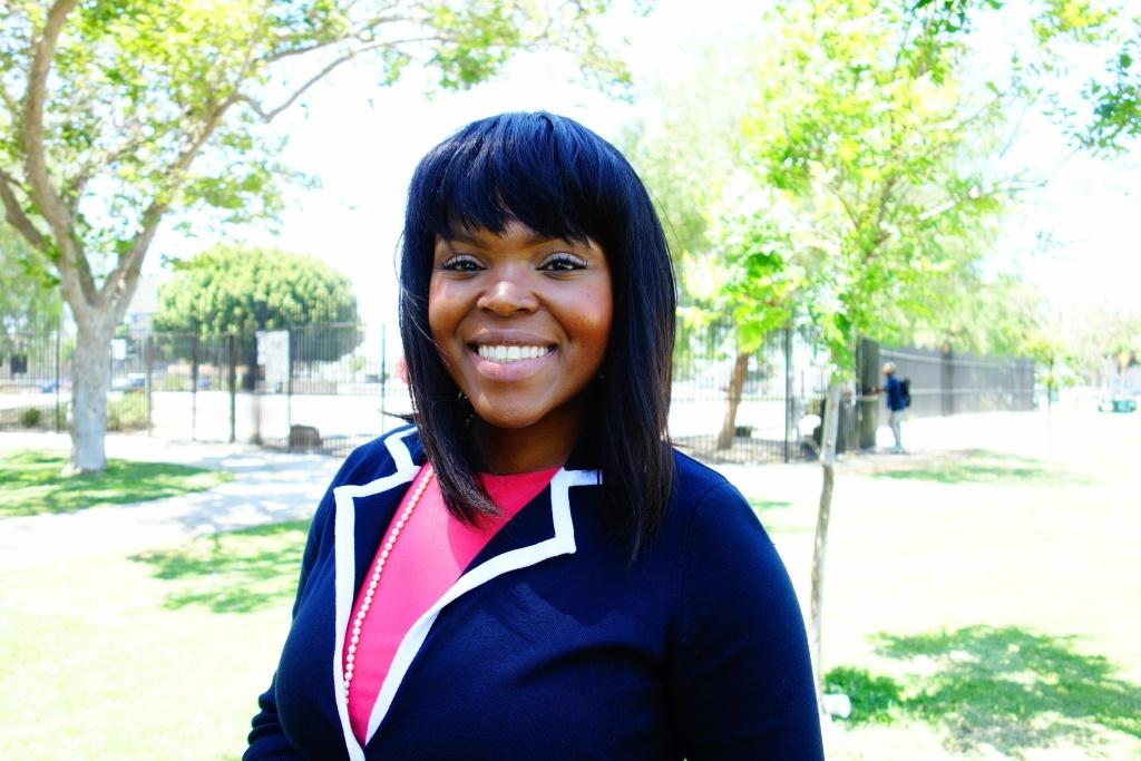 31-year-ol Compton Mayor Aja Brown.