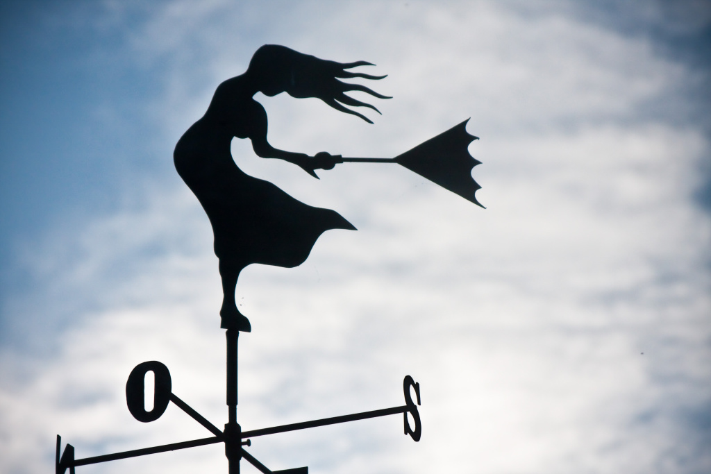 Windy wind weather vane weathervane