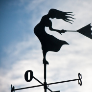Windy wind weather vane weathervane