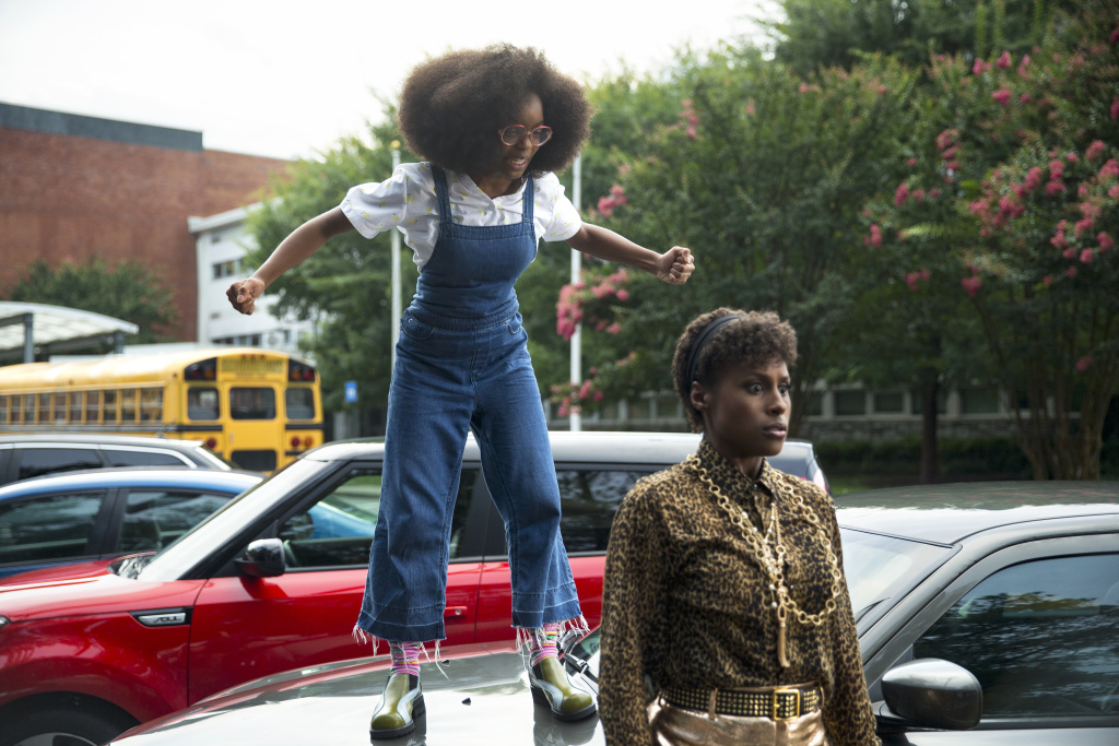 In <em>Little, </em>Marsai Martin plays a tech mogul who turns into a 13-year-old version of herself. Issa Rae also stars.