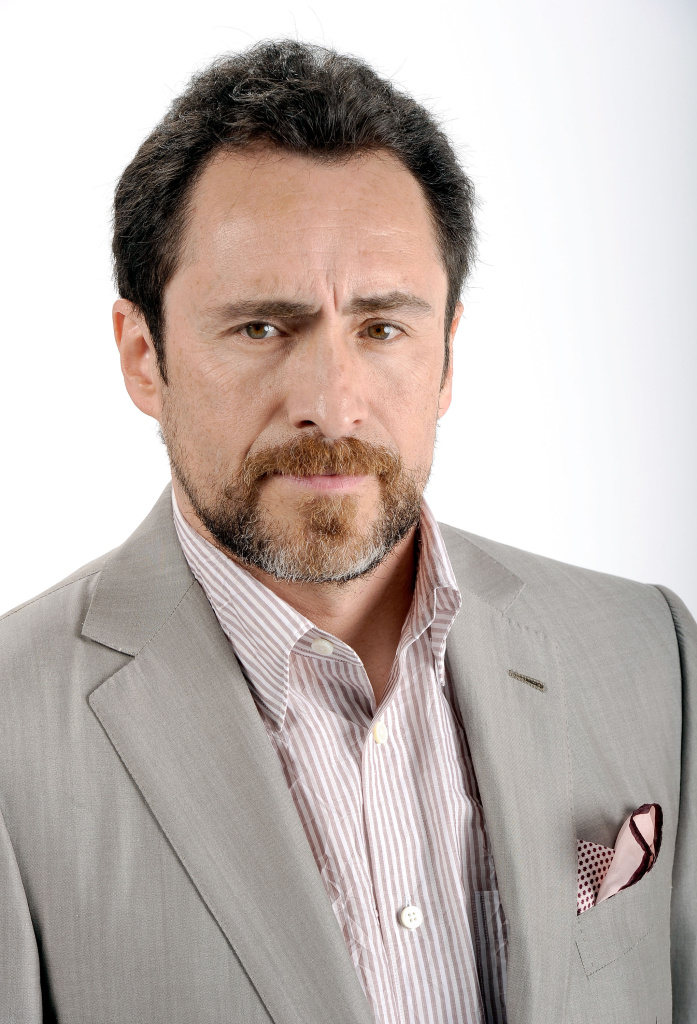 Actor Demian Bichir poses for a portrait during the 84th Academy Awards Nominations Luncheon at The Beverly Hilton hotel on February 6, 2012 in Beverly Hills, California.