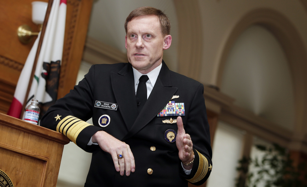The former director of the National Security Agency, Adm. Mike Rogers, tells NPR that in the run-up to the 2016 election he wishes