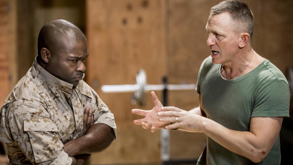 Daniel Craig and David Oyelowo in Sam Gold's production of