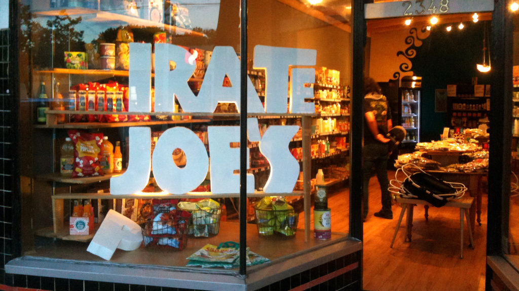 The original (P)irate Joe's was once a Romanian bakery. Then it became