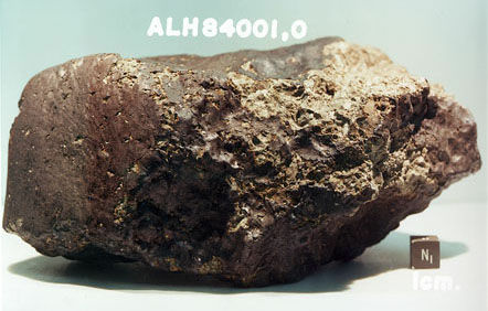 ALH84001: The Mars rock