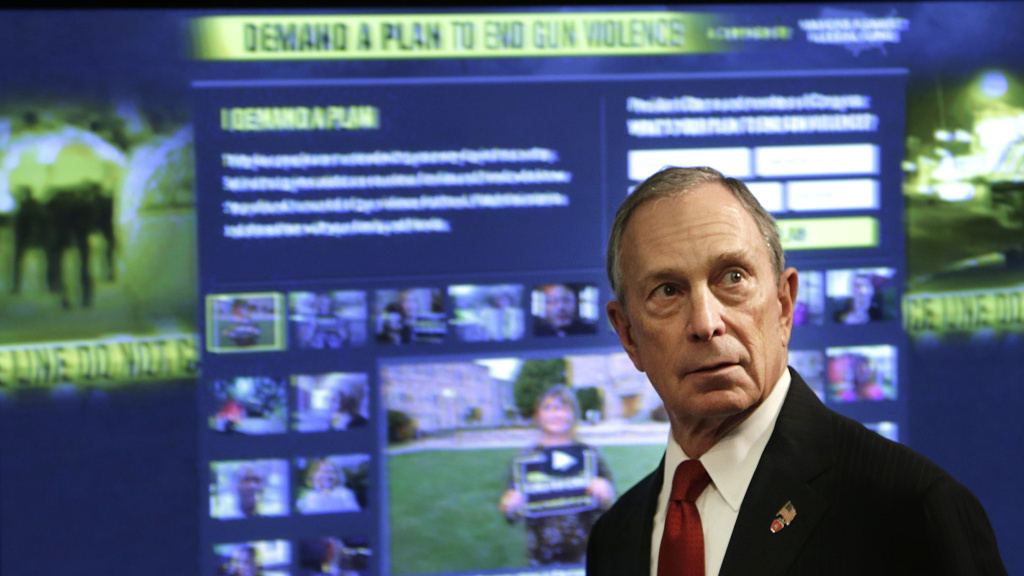 Former New York Mayor Michael Bloomberg announced Wednesday that he plans to spend $50 million this year on field operations to support pro-gun-safety-law candidates.