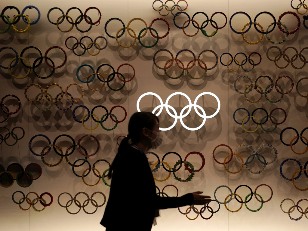 The Tokyo Summer Olympics had been set to start in July but were pushed back a year because of the COVID-19 pandemic.