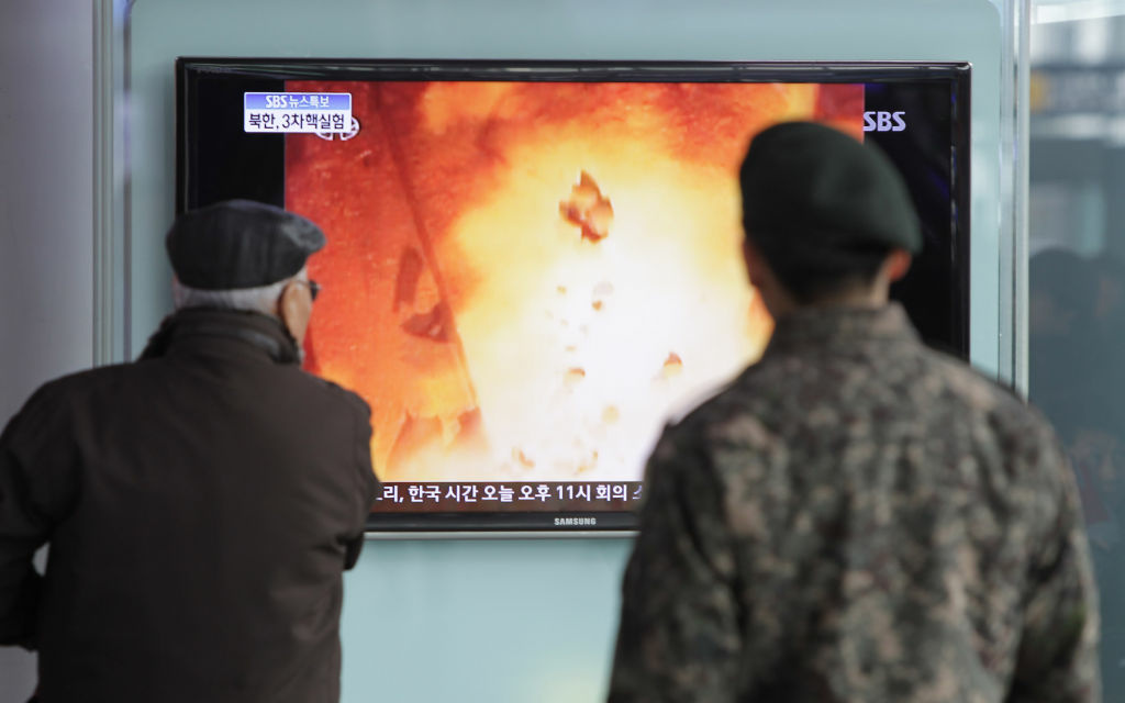 After three nuclear tests and a long-range rocket launch, many believe North Korea is years away from the capability of striking the U.S. with a nuclear weapon. (Photo: People watch a television broadcast reporting the North Korea's nuclear test at the Seoul Railway station on February 12, 2013 in Seoul, South Korea).