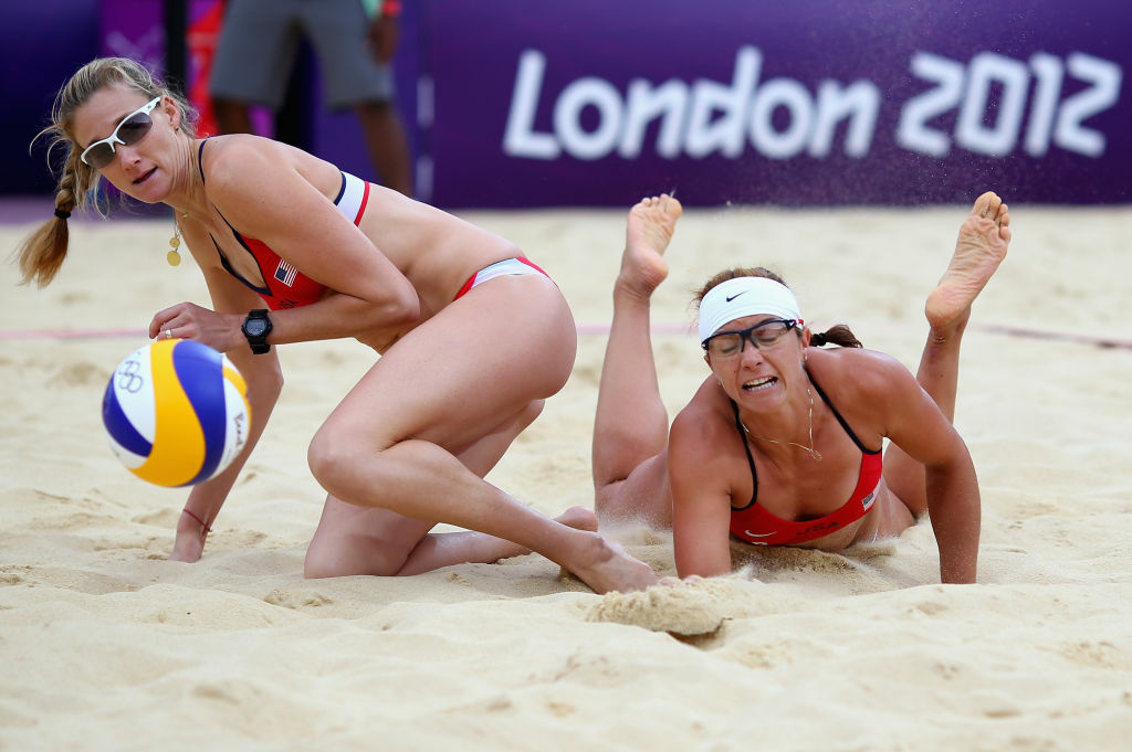 Update Photos Of The Olympic Womens Beach Volleyball -6963