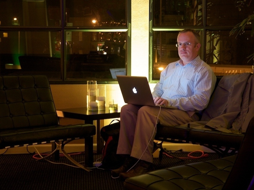 Mozilla's new CEO, Brendan Eich, pictured in 2009. Eich was recently promoted to CEO but has since resigned.
