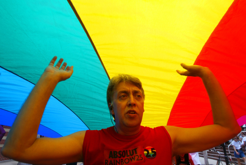Gilbert Baker, designer of iconic rainbow flag, has died