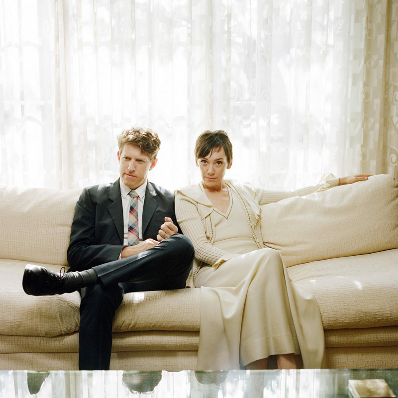 LA-based pop duo The Bird and the Bee is Greg Kurstin and Inara George