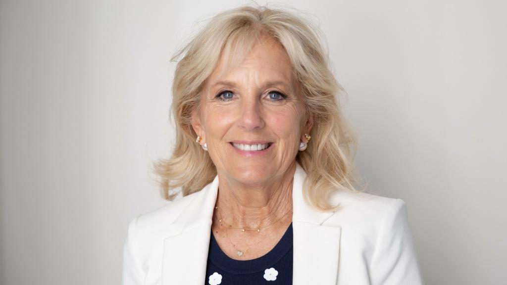 Jill Biden, wife of former vice president and 2020 Democratic presidential candidate Joe Biden.