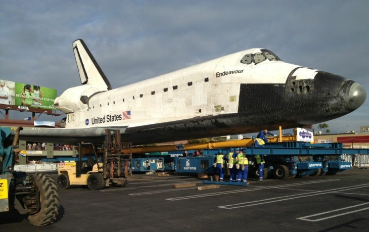 Shuttle at rest