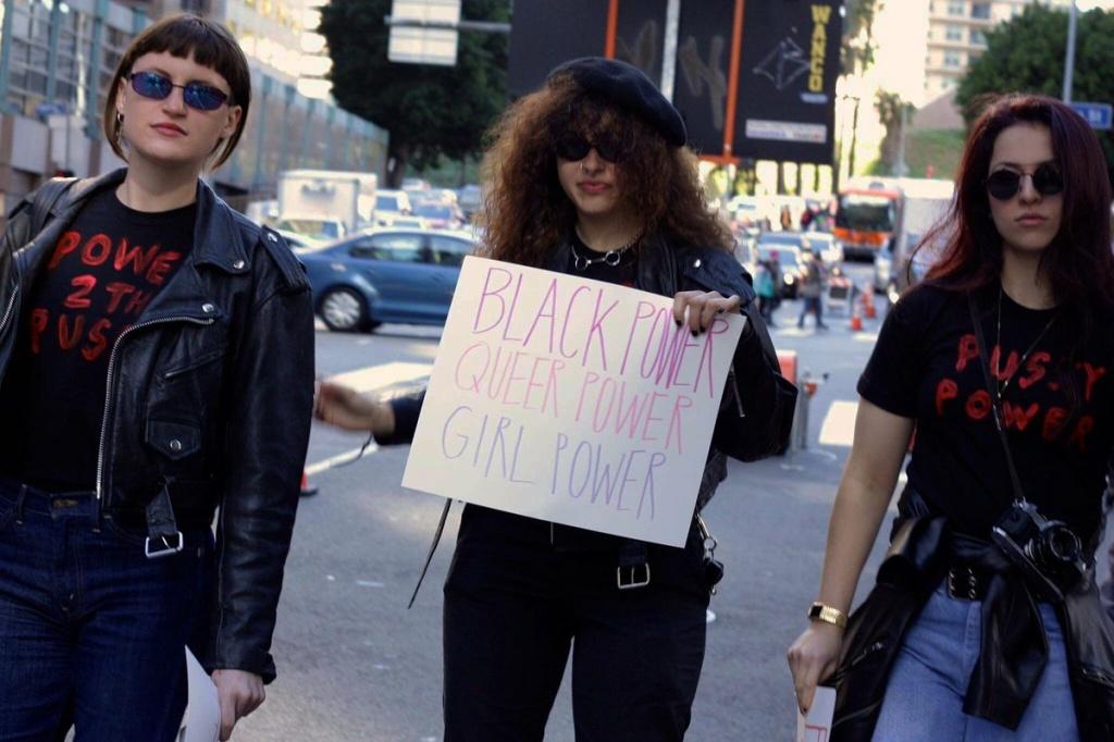 MUNA at the Women's March LA