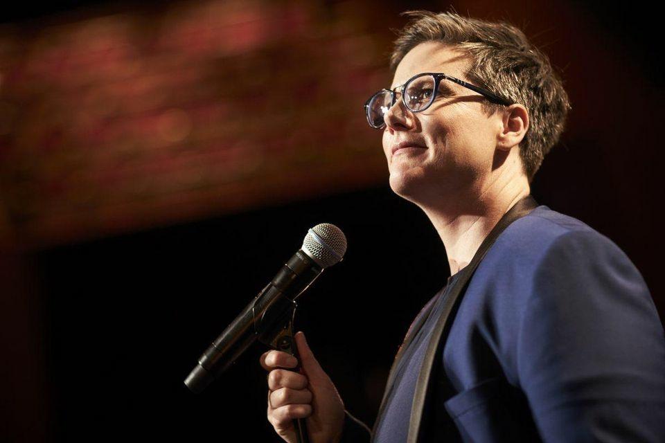 Comedian Hannah Gadsby.