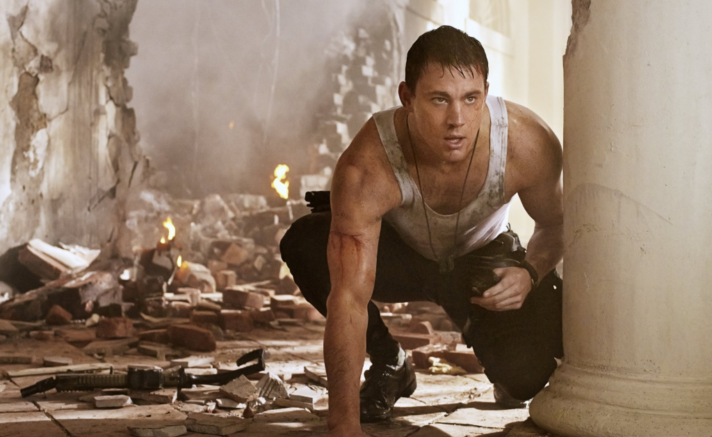 In this handout production photo provided by Sony Pictures Entertainment, Channing Tatum portrays  John Cale in