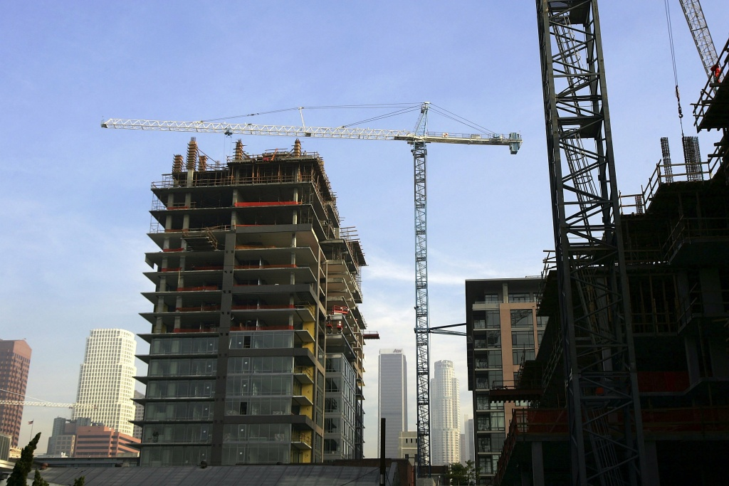Aids healthcare foundation sues la over planned high rise for Recycled building materials los angeles