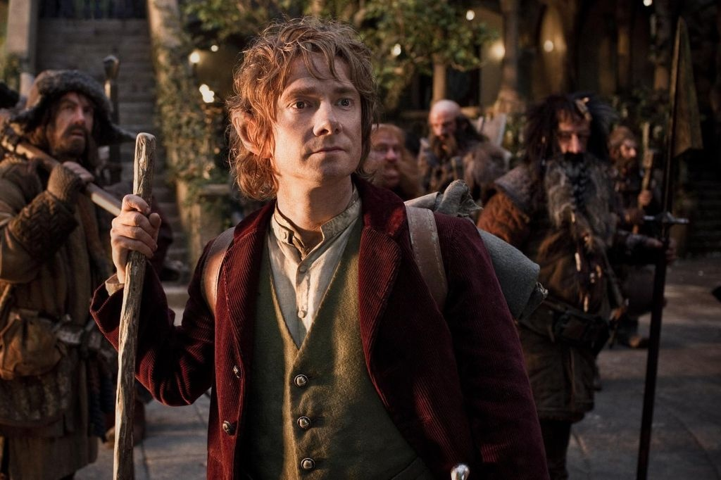 'The Hobbit: An Unexpected Journey' remains at the top of the box office for a third straight week.