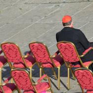 VATICAN-POPE-LAST AUDIENCE-MAHONY