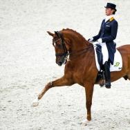 Dutch dressage rider Adelinde Cornelisse