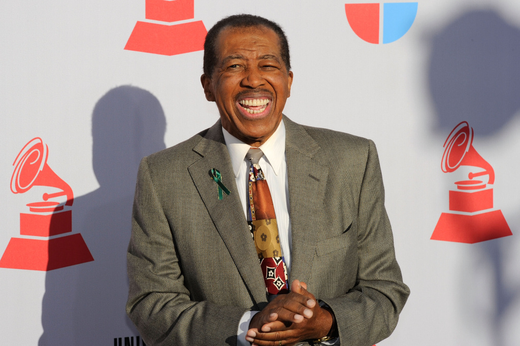 Singer Ben E. King arrives at the 11th annual Latin GRAMMY Awards at the Mandalay Bay Resort & Casino on Nov. 11, 2010 in Las Vegas, Nevada.