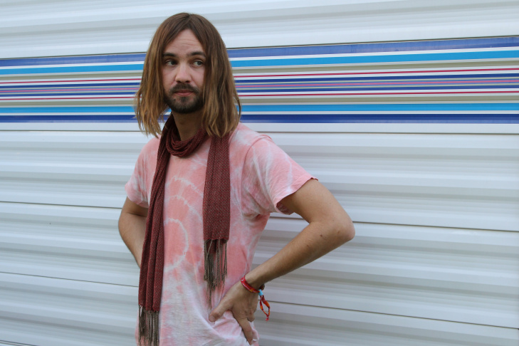 Kevin Parker of Tame Impala performs during the 2015 Coachella Valley Music & Arts Festival at the Empire Polo Club.