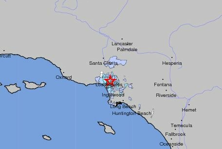 A magnitude-3.2 earthquake centered in Beverly Hills shook much of Los Angeles' Westside early Monday morning. Did you feel it?