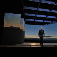 "Edward Parks performs the title role in ""The (R)evolution of Steve Jobs"" at Santa Fe Opera."