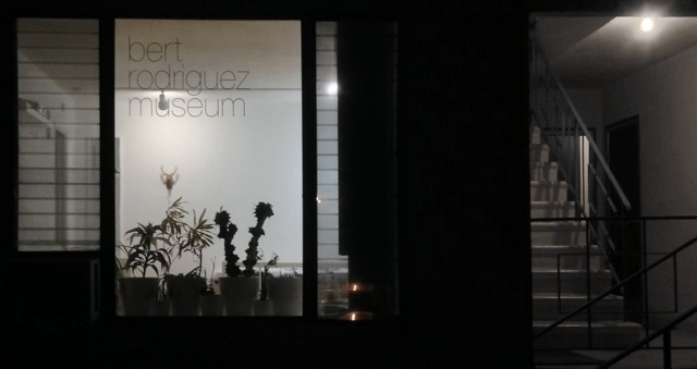 The exterior of the 'Bert Rodriguez Museum'