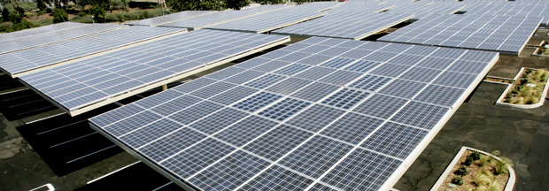Solar panels will help Orange County save money.