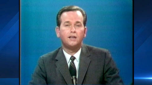A screenshot from NBC4 shows former news reporter and anchor Jess Marlow. He died Sunday at 84.
