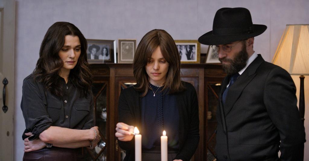 (l-R) Rachel Weisz, Rachel McAdams and Alessandro Nivola in