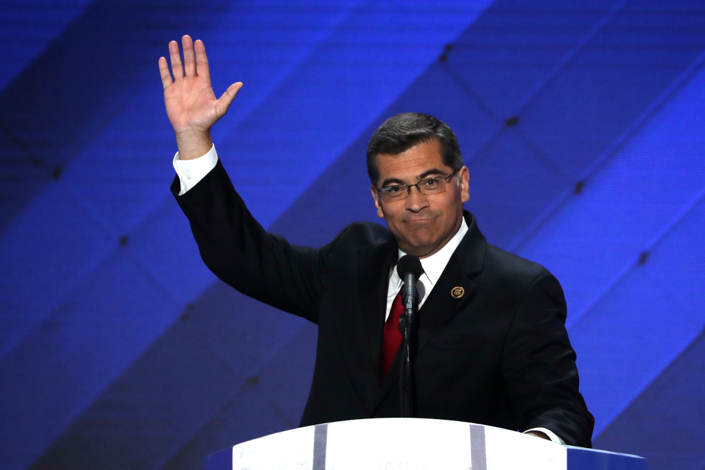Former U.S. Rep. Xavier Becerra, now California attorney general, delivers remarks at the Democratic National Convention on July 28, 2016 in Philadelphia, Pennsylvania. A special election to fill his House seat is scheduled in about two weeks.