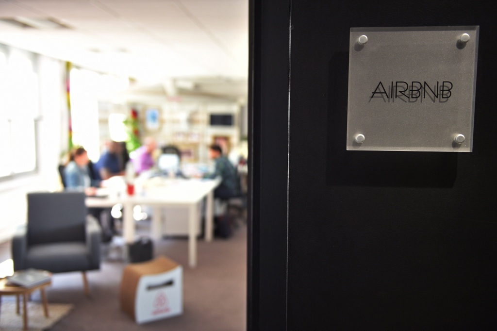 Airbnb is the target of a lawsuit brought by five tenants who say they were kicked out of their Fairfax District apartments so their landlords could rent the units on the company's website for more money.