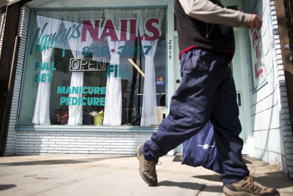 FILE PHOTO: Nancy's Nails on Pico Boulevard for 28 years.