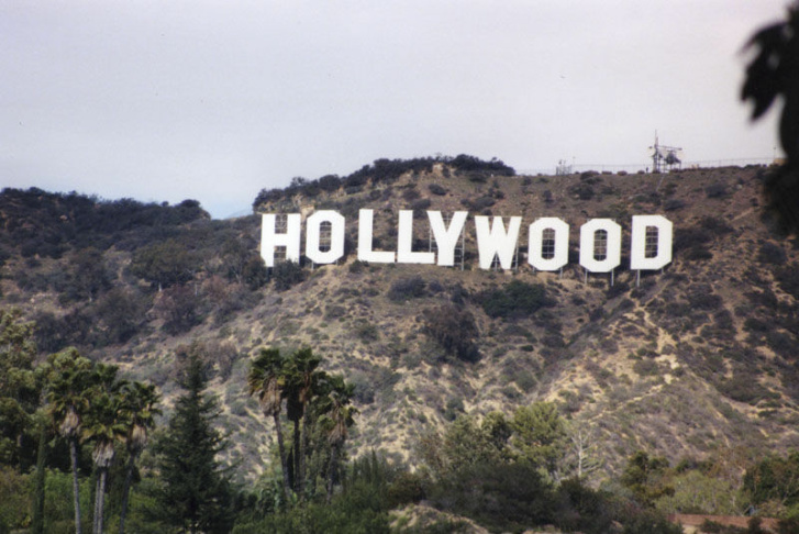 Modern Hollywood Sign